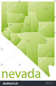 State Of Nevada Map by Map Nevada State Usa Stock Vector 78085750 Shutterstock