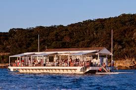 the island sydney harbour the island floating bar sydney