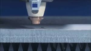 trumpf trulaser 5030 fiber with brightline cutting stainless steel
