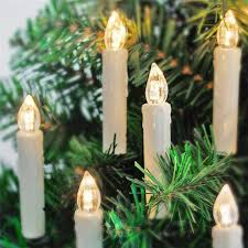 aliexpress buy candle shaped tree lights with
