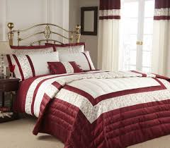 Cynthia Rowley Bedding Collection Image Detail For Red U0026 Cream Double Duvet Cover Bedding Set