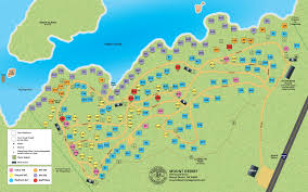 World Deserts Map by Campground Map Acadia National Park Campgrounds