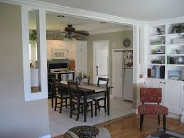 open wall between kitchen and living room living room ideas