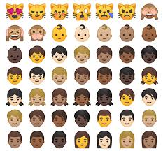 new android emojis these are the new android emojis rip blob tech