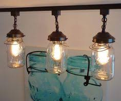 mason jar bathroom light vintage quart trio mason jar light