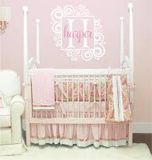 monogram wall decals for nursery 13 best baby sophie u0027s room images on pinterest babies nursery