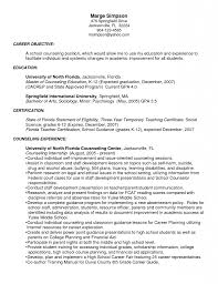 Academic Advisor Resume Examples by Guidance Counselor Resume Template Youtuf Com