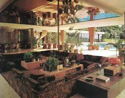 1960s Interior Design The Blue Remembered Hills The Pits