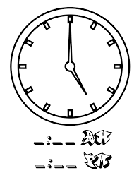 file tell time clock hr 05 at coloring pages for kids boys dotcom