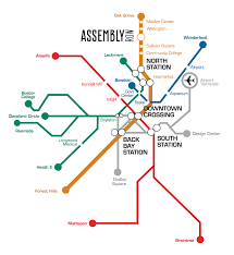 Mbta Orange Line Map by Assembly Row Home