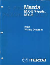 2003 mazda mx 5 miata repair shop manual original