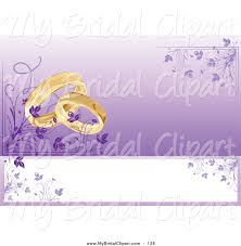 Wedding Cards Invitation Designs Bridal Clipart Of A Wedding Card Invitation With Rings And A