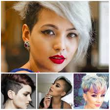 female short hair undercut latest pixie haircut ideas 2017 u2013 new hairstyles 2017 for long