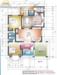 home design for 1500 sq ft home plan and elevation 2430 sq ft home appliance