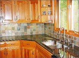 slate backsplash tiles for kitchen slate backsplash for kitchen some facts tips and ideas