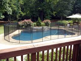 removable pool fence cost backyard fence ideas