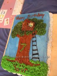 Magic Treehouse - cool magic tree house cake