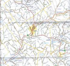 Wall Map Delaware County Paper Wall Map Jimapco