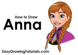 draw anna frozen