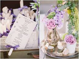 purple wedding programs rustic wedding at vista vineyard rustic wedding chic