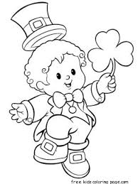 happy st patricks day coloring sheets for kidsfree printable
