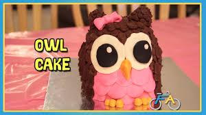 owl cake how to make a owl cake