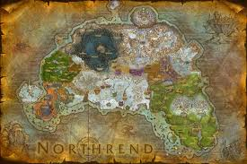 World Of Warcraft Map by World Of Warcraft Composites Northrend By Digitalutopia On Deviantart
