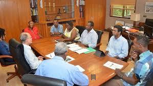 pr駸ident de la chambre d agriculture le président rencontre la chambre d agriculture collectivité
