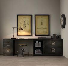 Devon Office Furniture by Restoration Hardware Griffith Desk Chair Decoration Vintage Style