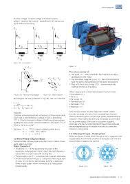 weg specification of electric motors