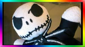 nightmare before christmas sock doll jack youtube