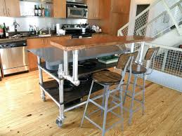 kitchen island carts with seating kitchen island industrial kitchen island cart seating table with
