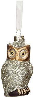 degrees owl ornament