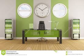 Contemporary Office Green Contemporary Office Royalty Free Stock Image Image 32616456
