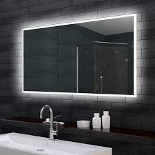 badspiegel led beleuchtung wandspiegel mit led beleuchtung home design inspiration und