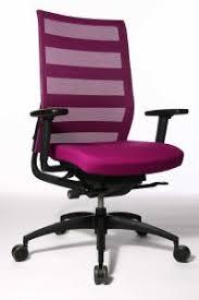 siege de bureau fauteuil en cuir avec dossier filet cento