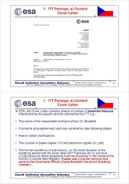 Guardian Covering Letter Cover Letter European Space Agency