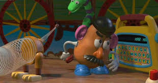 Potato Head Kit Toy Story Toy Story Favorite Scene Potato Head Calls Slink