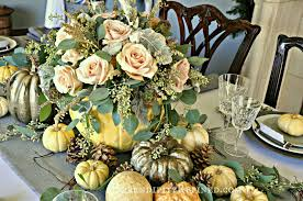 Thanksgiving Table Decorating Ideas by Serendipity Refined Blog Rustic Gray And White And Pink