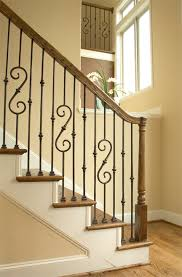 Handrail Rosette Wood To Iron Baluster Installation