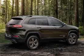 jeep dark green 2016 jeep cherokee latitude 75th anniversary review finally