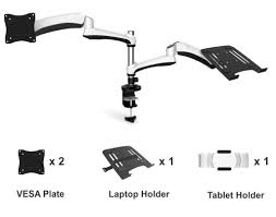 reo smart interactive counterbalance desk mount kit