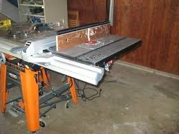 Table Saw Dust Collection by Ridgid Table Saw Ts3650 Specs Ridgid Table Saw Ts3650 Dust