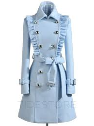 light blue trench coat light blue double breasted trench coat to cute to boot pinterest