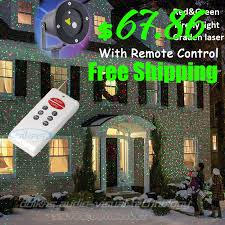 decorative outdoor lights show laser projector