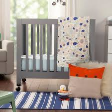 Bloom Alma Mini Crib by Bedroom Gorgeous Aqua Curtain On Babyletto Mini Crib With White