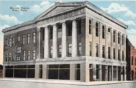 our buildings waco masonic lodge 92 waco masonic temple at 8th and washington