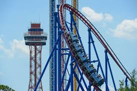 Dallas Texas Six Flags Mr Freeze Reverse Blast Six Flags Over Texas