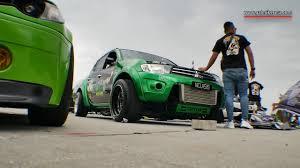 mitsubishi green mitsubishi triton chrome green custom modified speed junkies