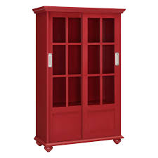 Altra Bookcase With Sliding Glass Doors by Bookshelves With Sliding Doors Canterbury Bookcases With